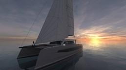 CATANA catamarans au Cannes Yachting Festival